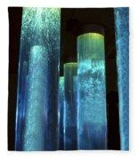 Blue Tubes Fleece Blanket