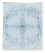 Blueprint Fleece Blanket