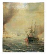 Bombardment Of Sale Fleece Blanket