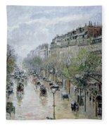 Boulevard Montmartre Fleece Blanket