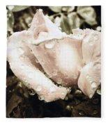 Bring May Flowers Fleece Blanket