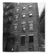 Brooklyn New York - 126 Front Street Fleece Blanket