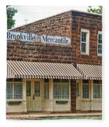 Brookville Mercantile Fleece Blanket