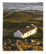 Bunbeg, County Donegal, Ireland Sunset Fleece Blanket