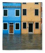 Burano Italy 1 Fleece Blanket