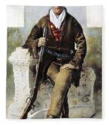 Calamity Jane (c1852-1903) Fleece Blanket