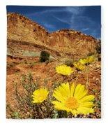 Capitol Flower Garden Fleece Blanket