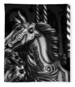 Carousel Horses Mono Fleece Blanket