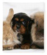 Cavalier King Charles Spaniel Fleece Blanket