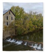 Cedar Point Mill Fleece Blanket