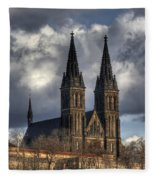 Chapter Church Of St Peter And Paul Fleece Blanket