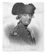 Charles Cornwallis Fleece Blanket