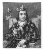 Charles V (1337-1380) Fleece Blanket