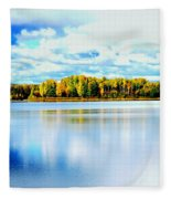Chena Lakes Fleece Blanket