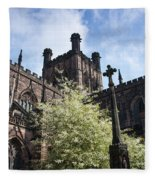 Chester Cathedral Fleece Blanket
