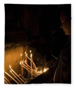 Church Of The Holy Sepulchre Fleece Blanket