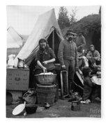 Civil War: Camp Life, 1861 Fleece Blanket