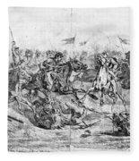 Civil War: Cavalry Charge Fleece Blanket