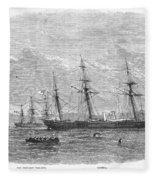 Civil War: C.s.s. Florida Fleece Blanket