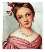 Clara Schumann (1819-1896) Fleece Blanket
