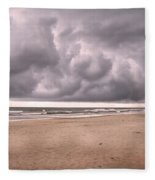 Coastal Storm Fleece Blanket