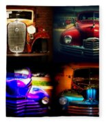 Collector Cars Fleece Blanket