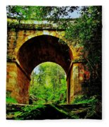 Colonial Era Bridge Fleece Blanket
