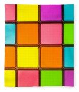 Colorful Background Fleece Blanket