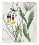 Colosseum: Flower Fleece Blanket