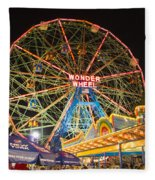 Coney Island Fleece Blanket