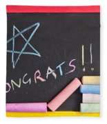 Congratulations Fleece Blanket
