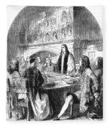 Congress Of Utrecht, 1713 Fleece Blanket