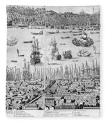 Constantinople, 1713 Fleece Blanket