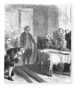 Continental Congress, 1774 Fleece Blanket
