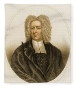 Cotton Mather, American Minister Fleece Blanket