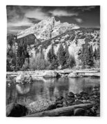 Cottonwood Creek Fleece Blanket