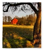 Country Life Fleece Blanket