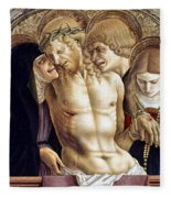 Crivelli: Pieta Fleece Blanket