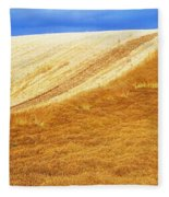 Crops, Oil Seed Rape Fleece Blanket
