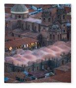 Cusco Fleece Blanket