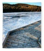 Cypress Hills Alberta Fleece Blanket