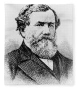 Cyrus Mccormick, American Inventor Fleece Blanket