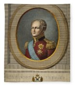 Czar Alexander I Of Russia Fleece Blanket