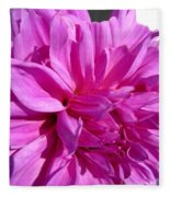 Dahlia Named Lilac Time Fleece Blanket