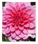 Dahlia Named Lucky Number Fleece Blanket