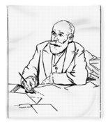Daniel De Leon (1852-1914) Fleece Blanket