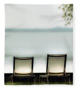 Deck Chairs Fleece Blanket