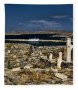 Delos Island Fleece Blanket