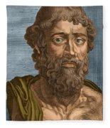 Demosthenes, Ancient Greek Orator Fleece Blanket