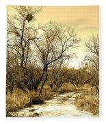Desert Trail Fleece Blanket